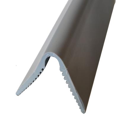 Picture of Grey soft PVC corner guard 45x45mm.