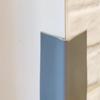 Minkšta pilka sienos kampo apsauga 45x45mm. nuotrauka